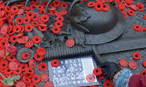 Remembrance Day on Parliament Hill