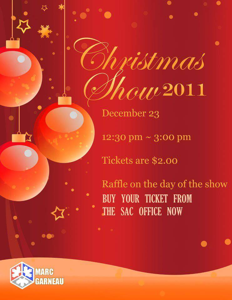 The Annual Christmas Show