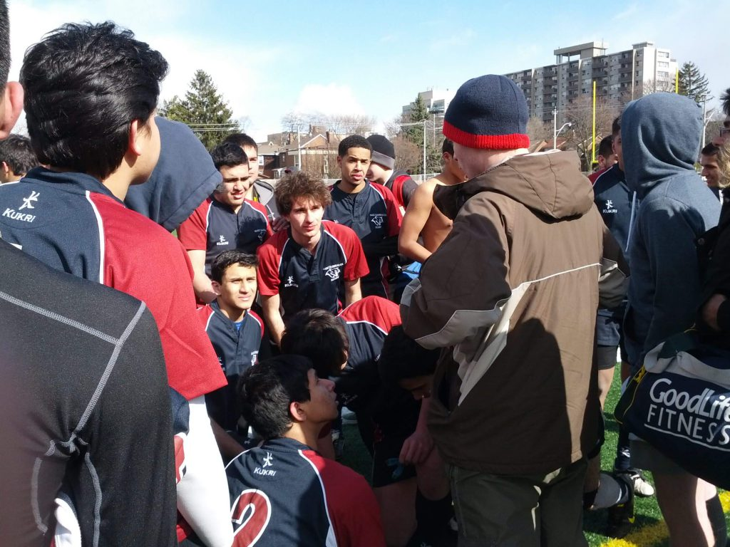 Boys' Rugby Takes on Northern