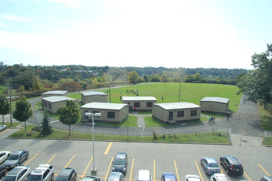 Four Portables Removed from MGCI's Back Field