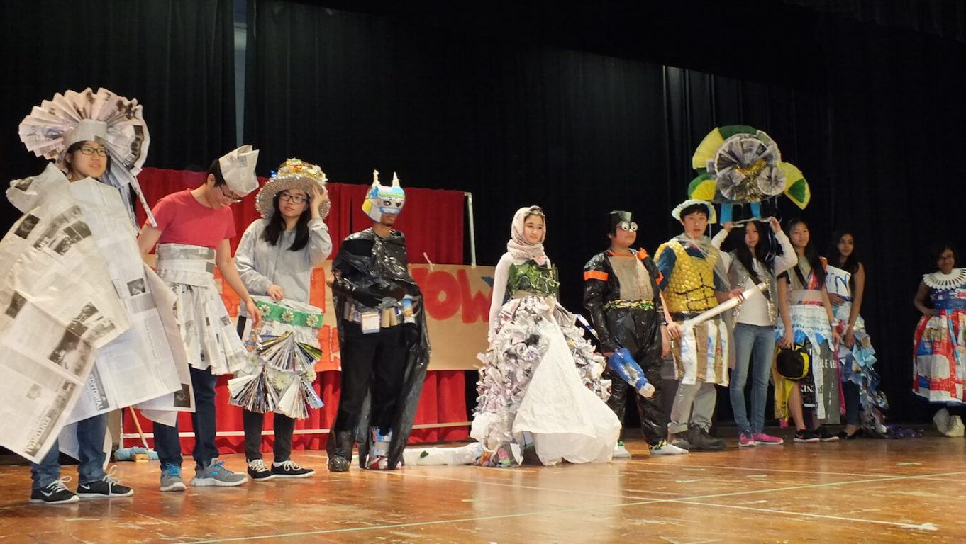 Another Man's Treasure: The Ecoteam Trashion Show