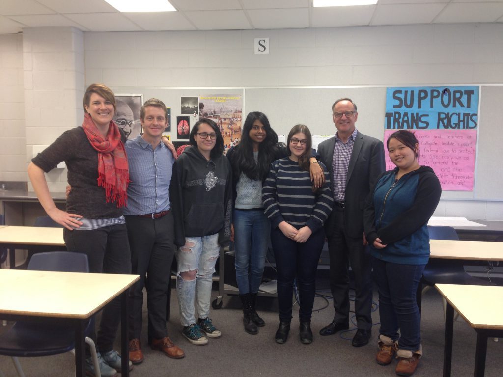 MP Rob Oliphant Visits MGCI