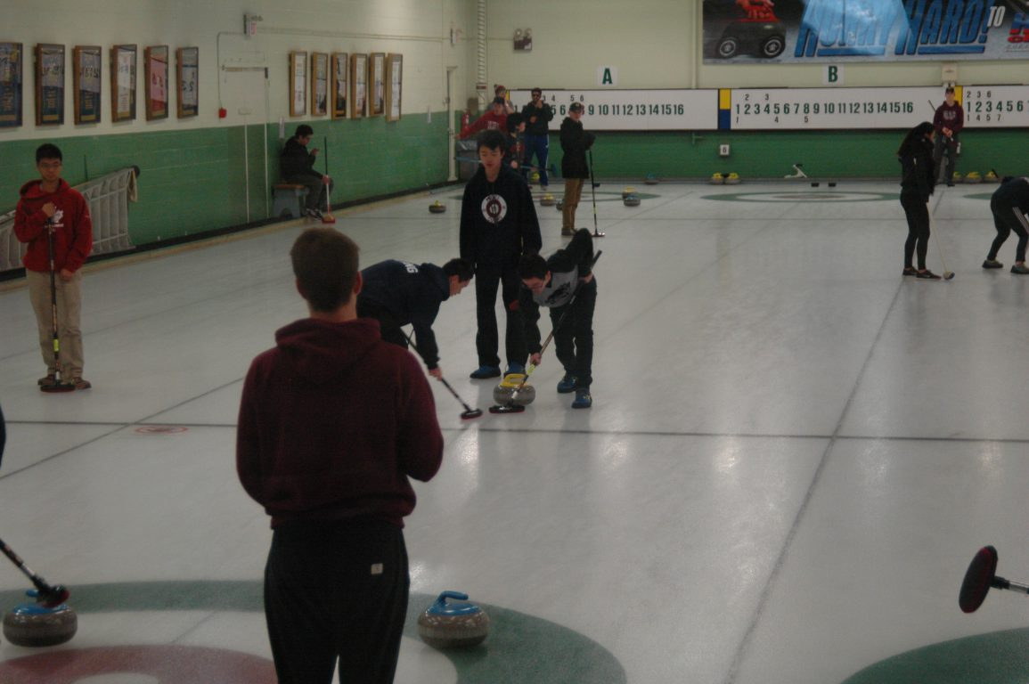 MGCI Curling a Sweeping Success