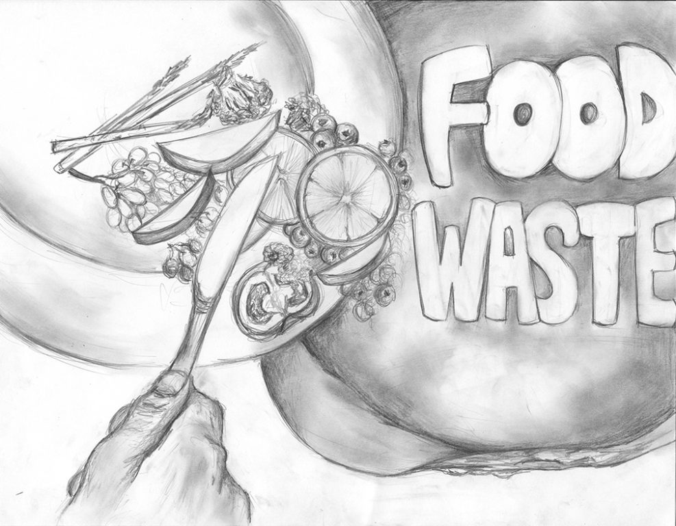 Op-Ed: An Excess of Food Waste