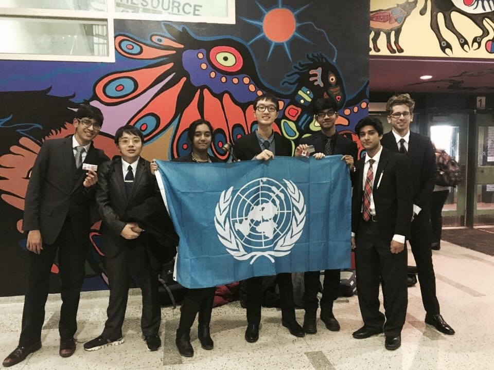 Awards Sweep at Model UN conference