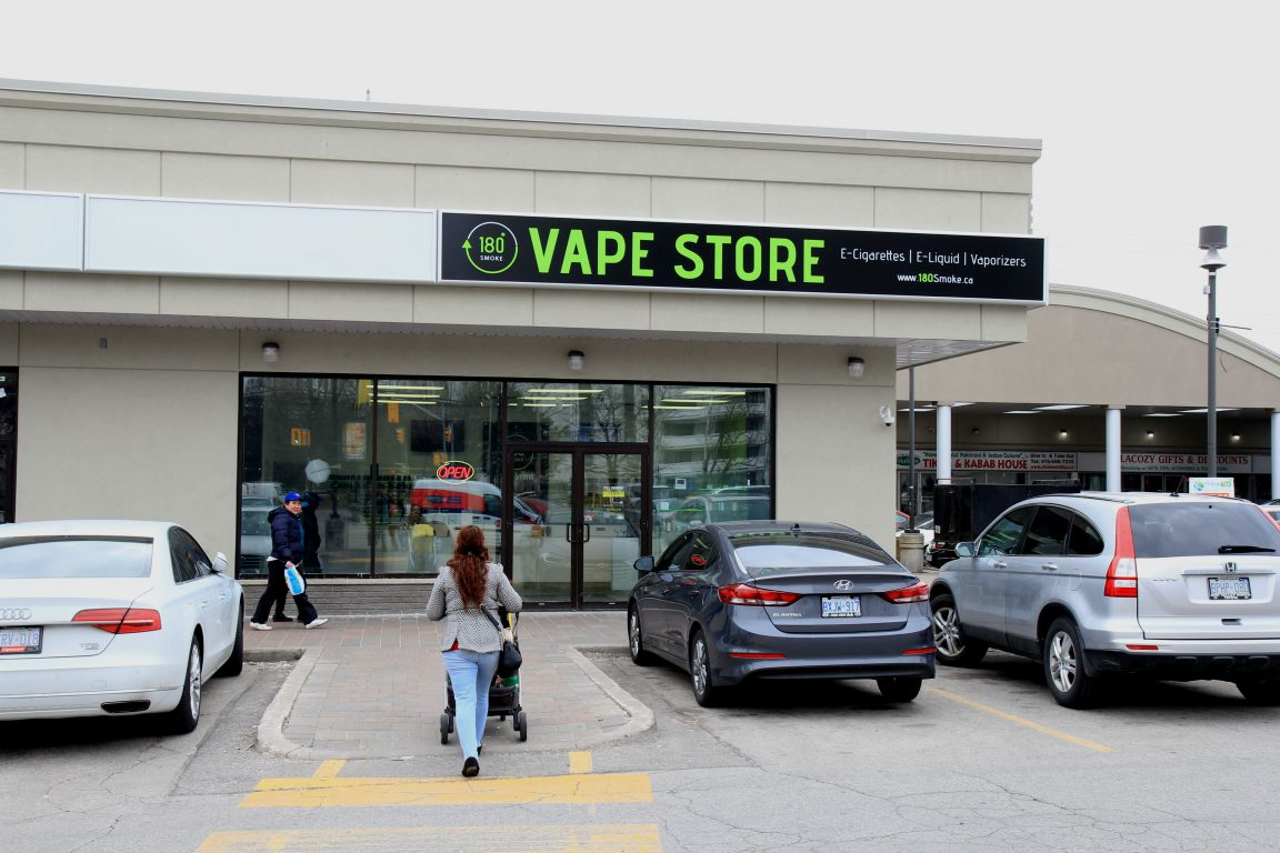 Saying Hello to the Vape Store