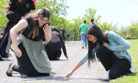 Chalking Creatively: MGCI's Fourth Annual Doodle Fest