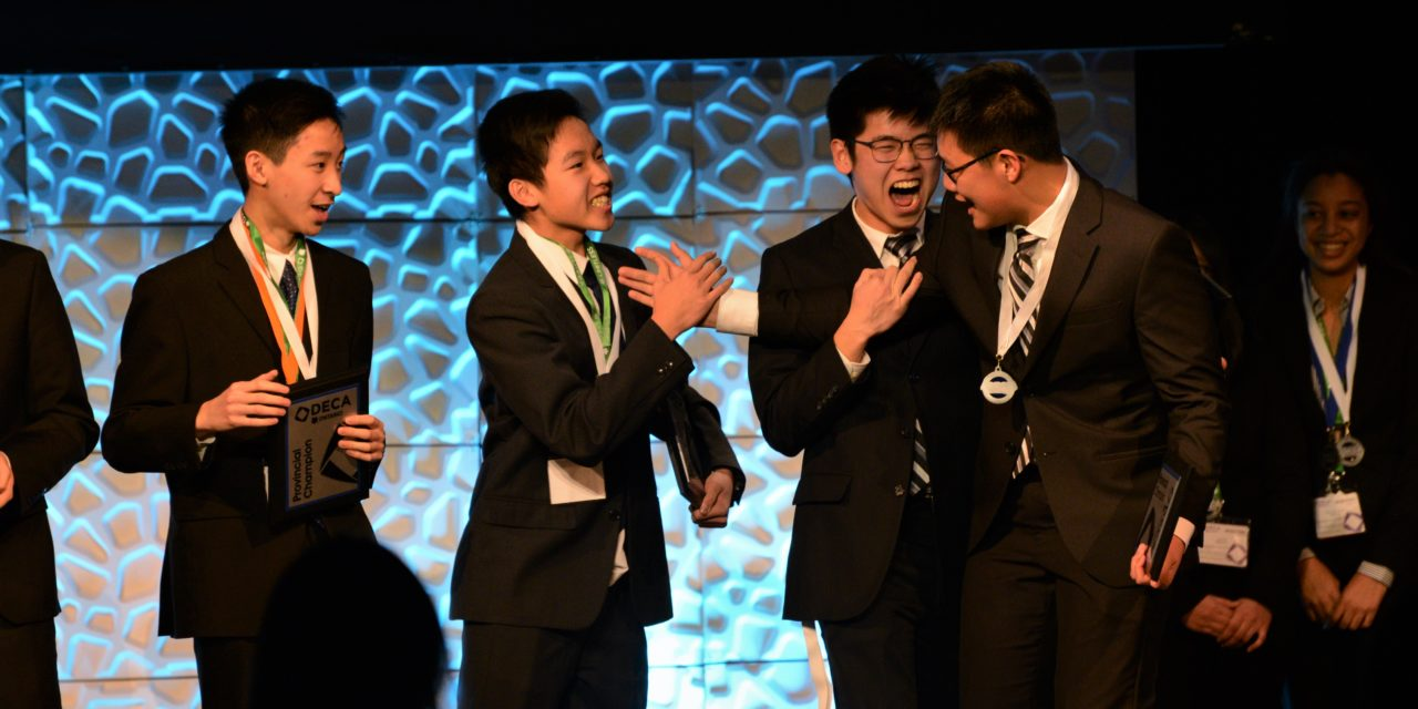 MGCI DECA Goes About Their Business at Provincials